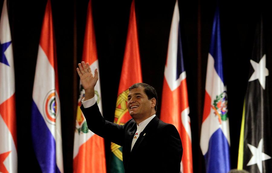 Rafael Correa | Rodrigo Sáenz | Agencia UNO