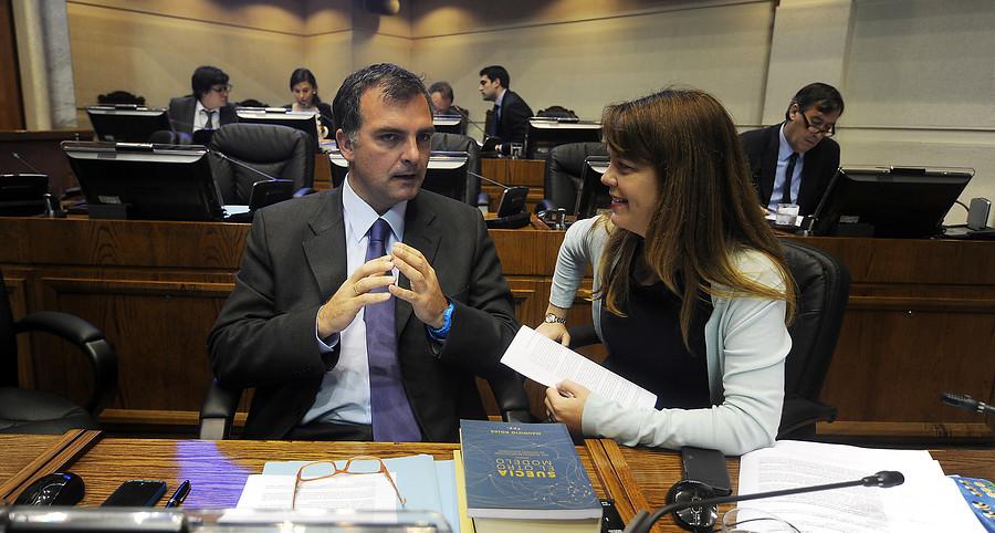 Ernesto Silva y Ena Von Baer   Pablo Ovalle   Agencia UNO