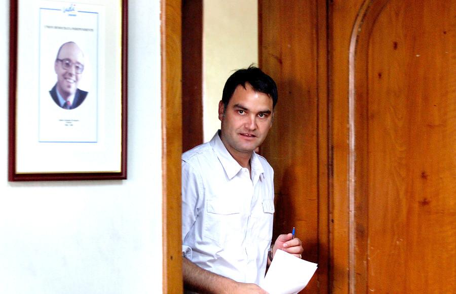 Javier Macaya   Rodrigo Sáenz   Agencia UNO