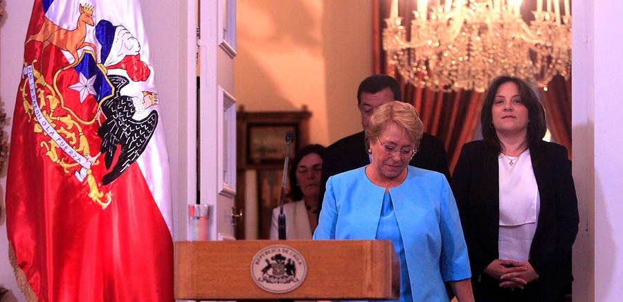 Michelle Bachelet | Cristobal Escobar | Agencia UNO
