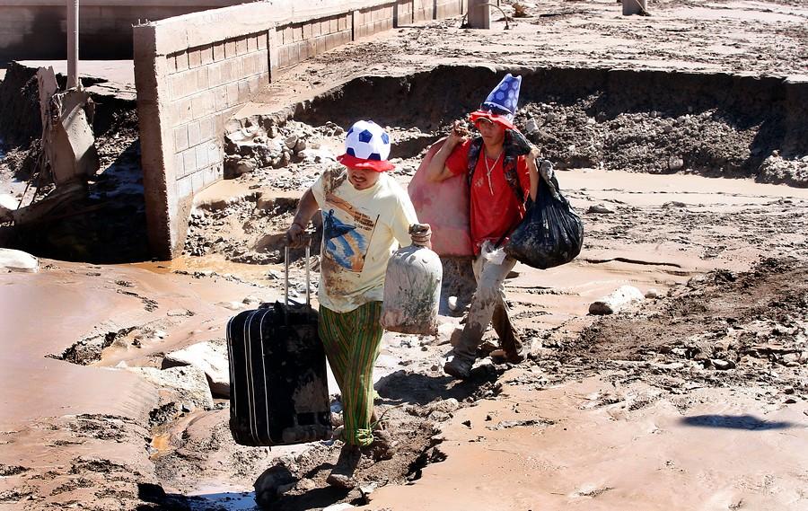 Habitantes de Chañaral   Rodrigo Sáenz   Agencia UNO