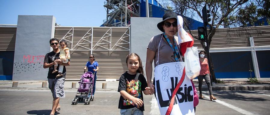 Marcha ciudadana por contaminación en Antofagasta   Magaly Visedo  Agencia UNO