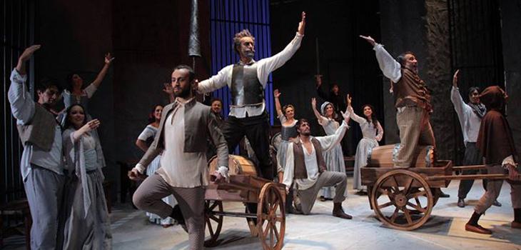 El Hombre de la Mancha, Teatro Municipal de Las Condes (c)