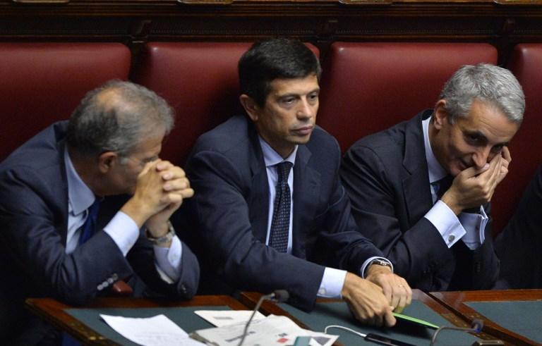 Al centro Maurizio Lupi | Andrea Coras |AFP