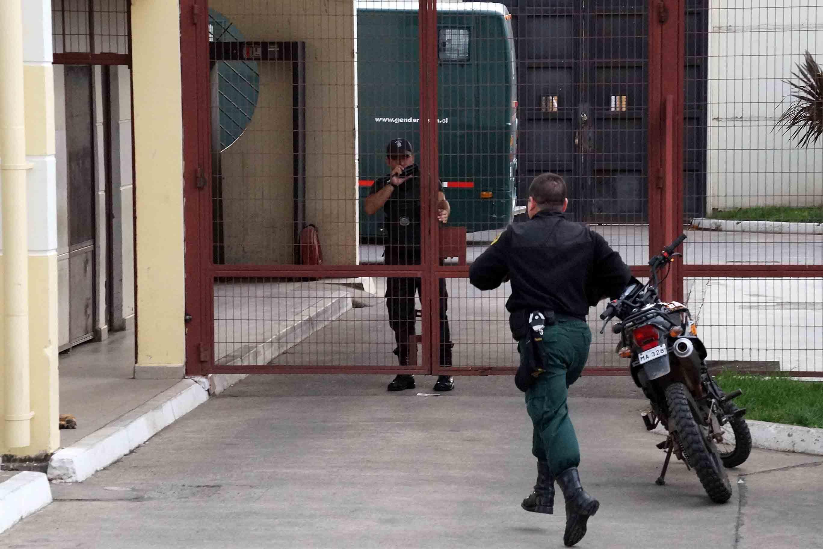 Cárcel de Angol   Marcelo Cartes   Agencia UNO