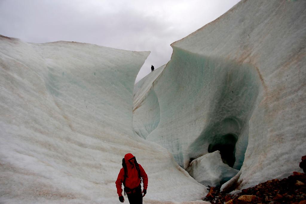 Glaciar Exploradores | Maribel Fornerod | Agencia Uno