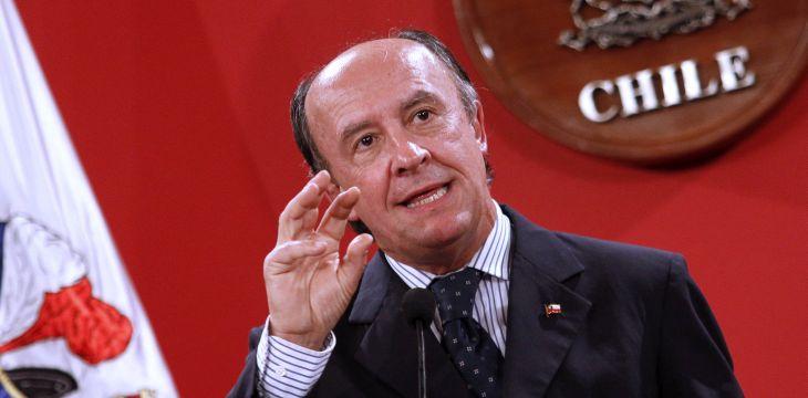 Ex ministro Cristián Larroulet   Archivo / Agencia UNO