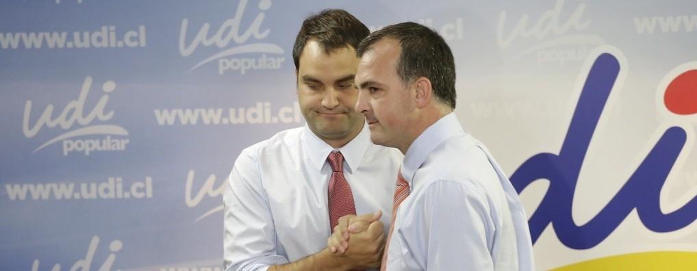 Javier Macaya y Ernesto Silva   Jorge Fuica   Agencia Uno