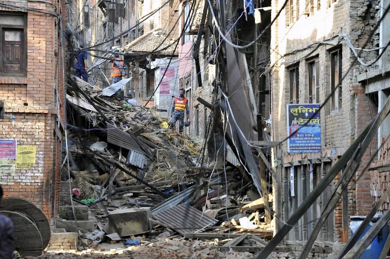 Terremoto en Nepal   Prakash Mathema   AFP