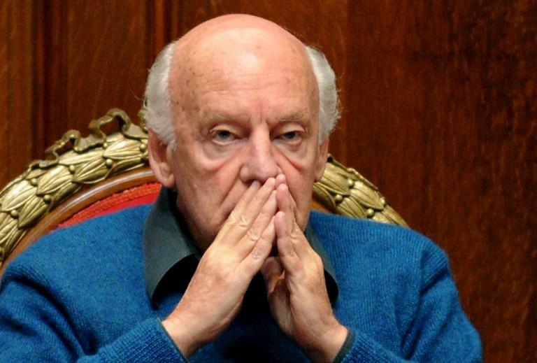 ARCHIVO   Eduardo Galeano   Pablo Porciuncula   AFP