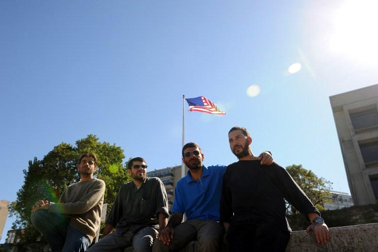 Ex presos de Guantánamo | Miguel Rojo | Agencia AFP