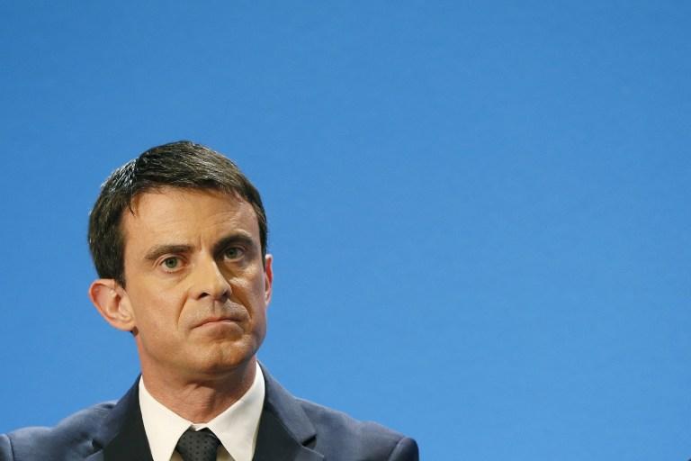 Manuel Valls | Patrick Kovarik | AFP