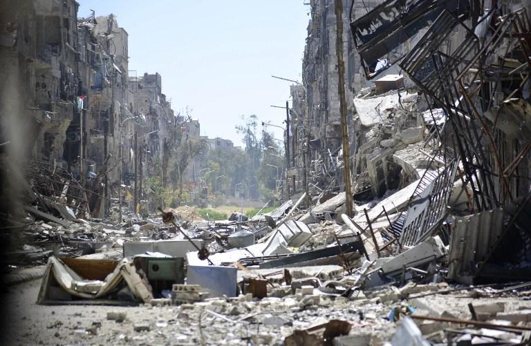 Campamento de Yarmuk | STR | AFP
