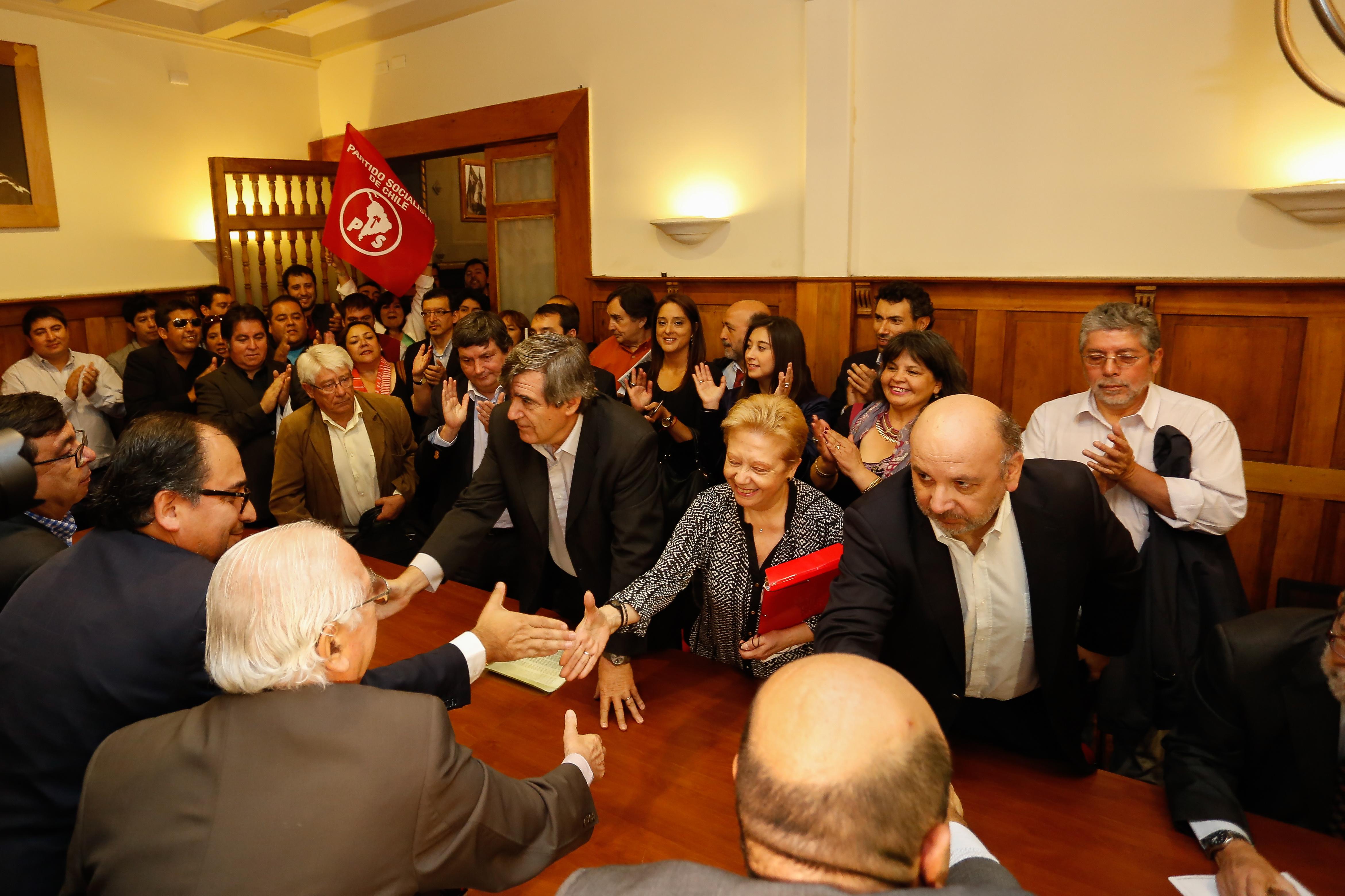 Inscripción de Escalona | Francisco Flores | Agencia UNO