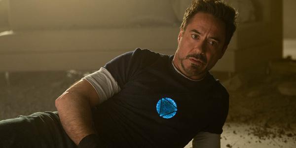 Robert Downey Jr en Iron Man