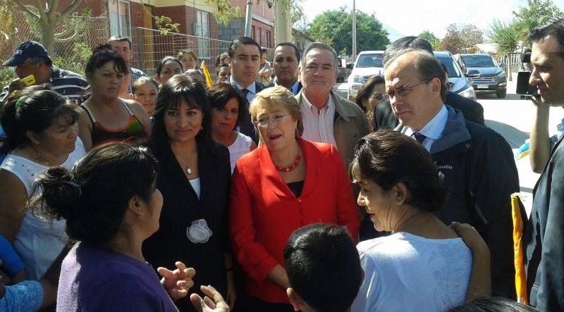 Presidenta Michelle Bachelet en Vicuña | Diario El Día