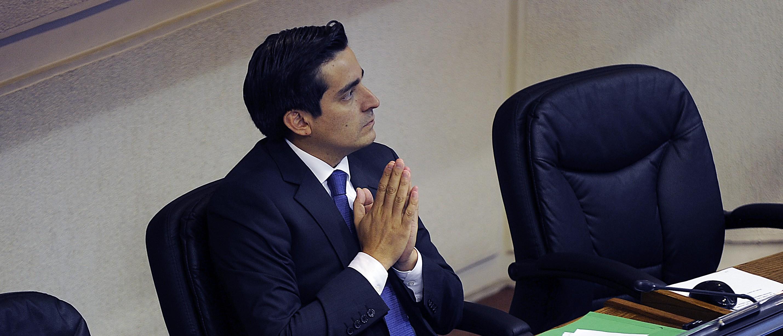 Rodrigo Peñailillo,Ministro del Interior |Pablo Ovalle | Agencia UNO