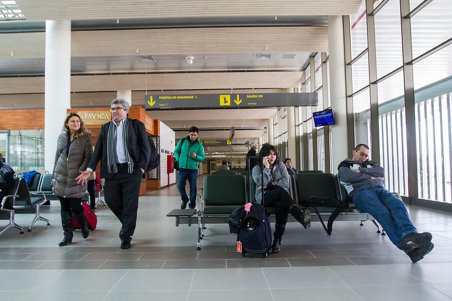 Imagen de contexto | Aeropuerto La Araucanía | David Cortés | Agencia Uno