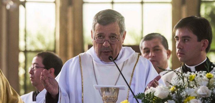 Obispo Juan Barros   David Cortés   Agencia UNO