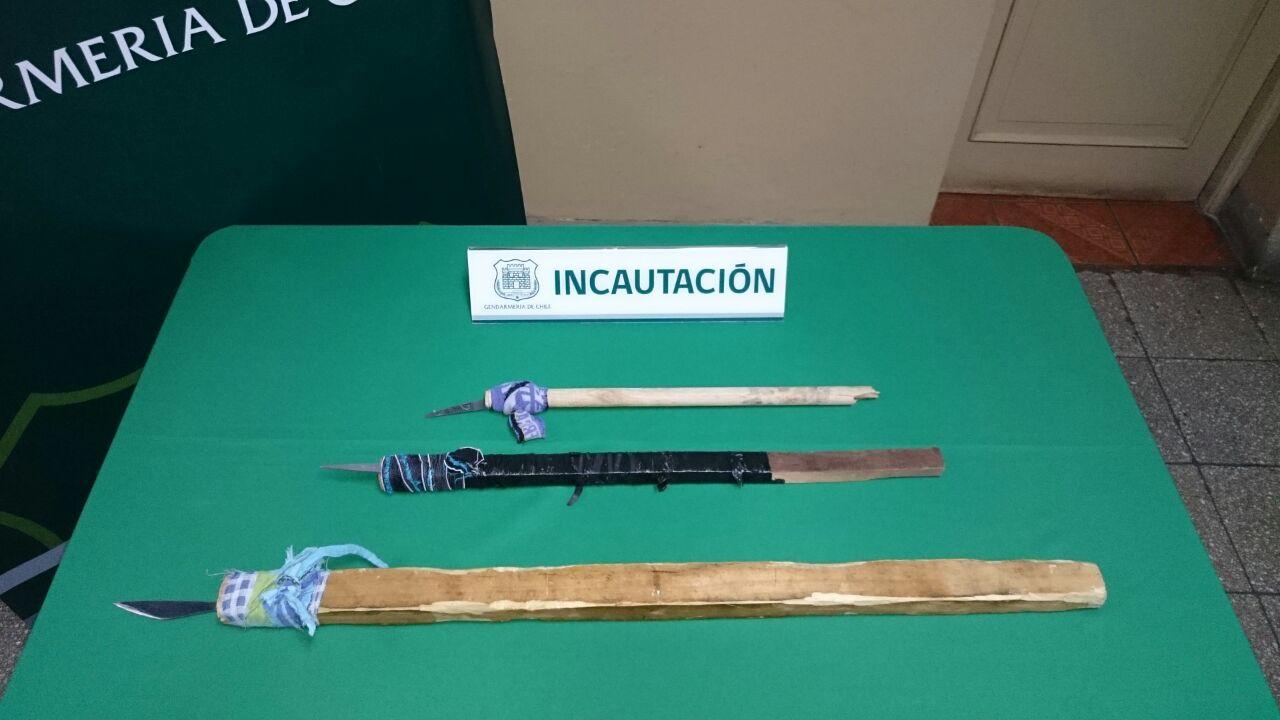 ARCHIVO | Armas incautadas en procedimientos | Tania Lavado (RBB)