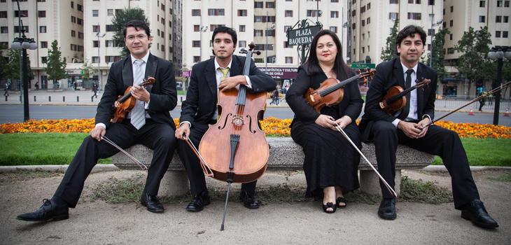 Claudia López en Cuarteto Andrés Bello