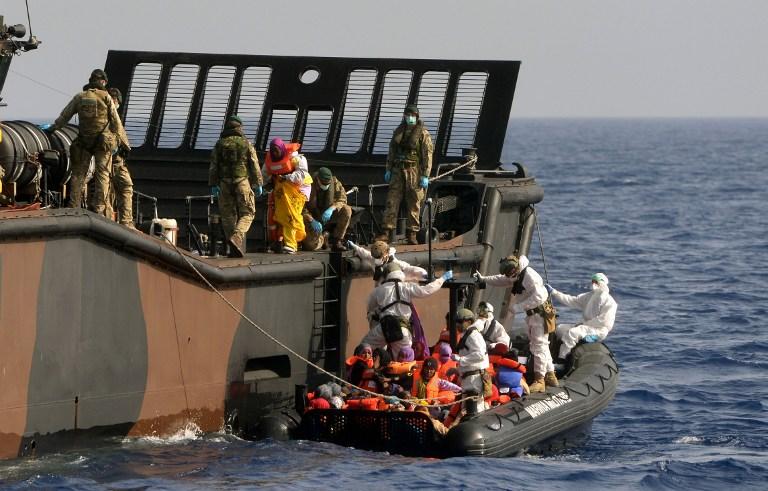 ARCHIVO | Louise George | Royal Navy | Crown Copyright 201 | AFP