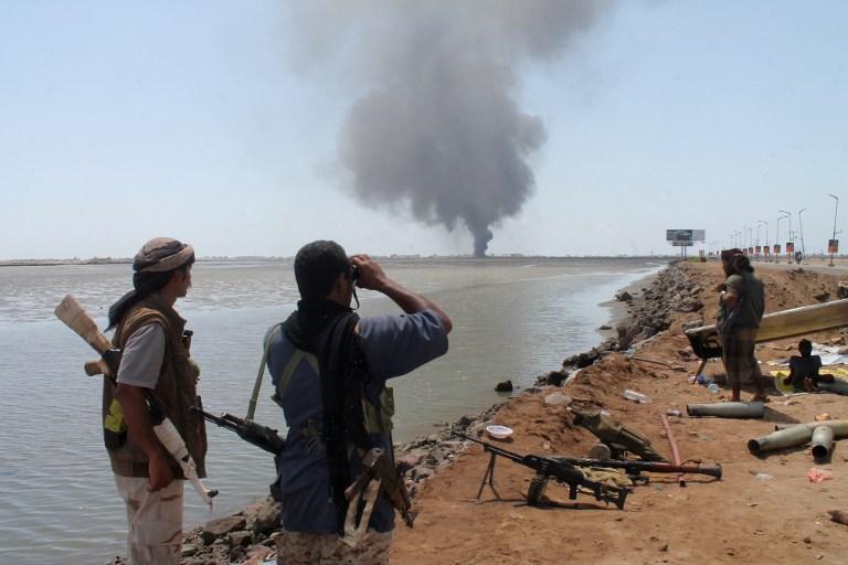 Conflicto en Yemen   Saleh Al-Obeidi   AFP