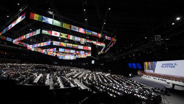 Congreso de la FIFA   Fabrice Coffrini   AFP