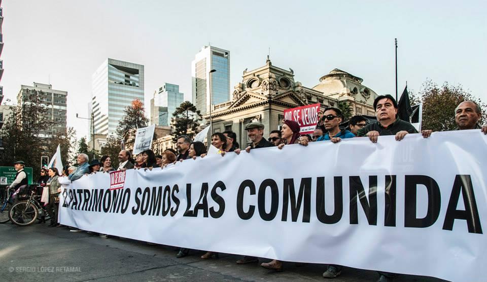 Marcha por el Patrimonio 2014   Sergio López Retamal