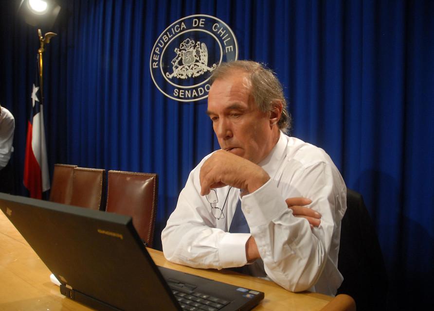 Senador Jaime Orpis | Pablo Ovalle | Agencia UNO