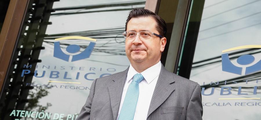 Fiscal Luis Toledo | René Meriño | Agencia UNO