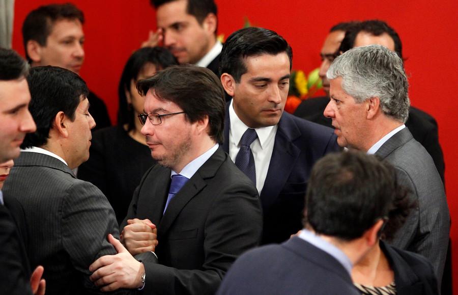 Marcos Barraza (centro) | Rodrigo Sáenz | Agencia UNO