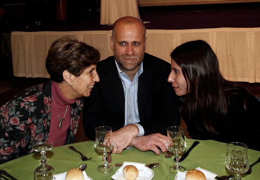 Ex ministro Elizalde durante Homenaje que le rindió el PS