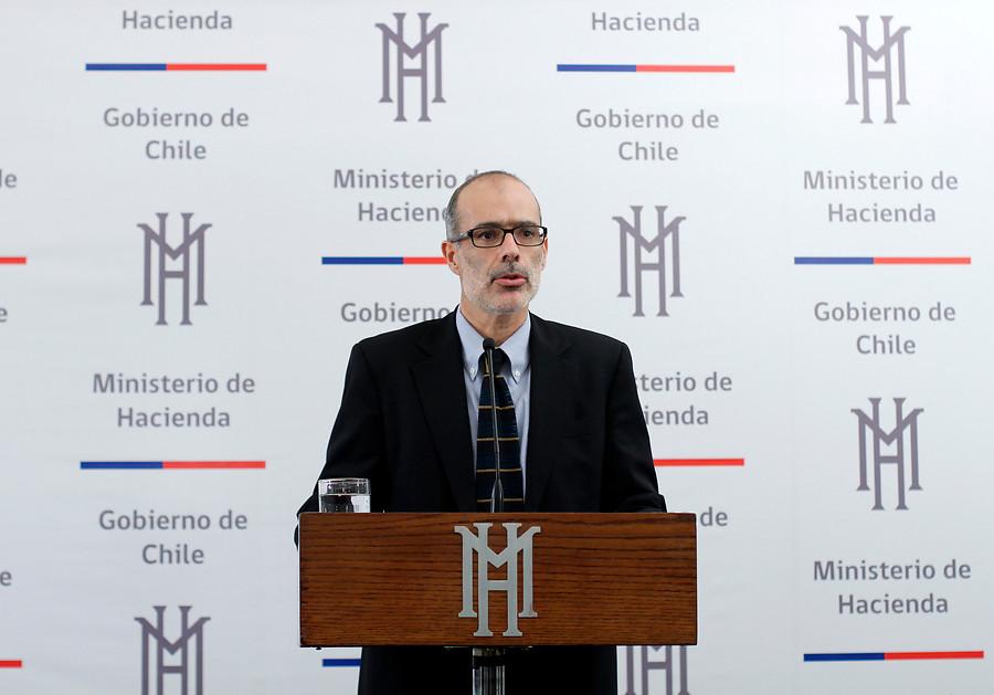 Rodrigo Valdés, ministro de Hacienda |Víctor Pérez |Agencia UNO