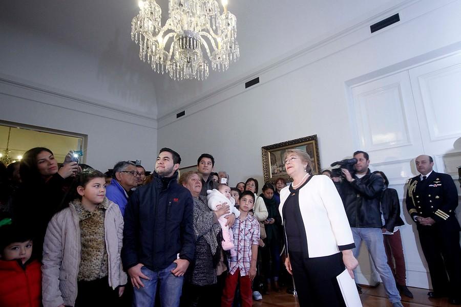 Presidenta Michelle Bachelet   Pedro Cerda   Agencia UNO