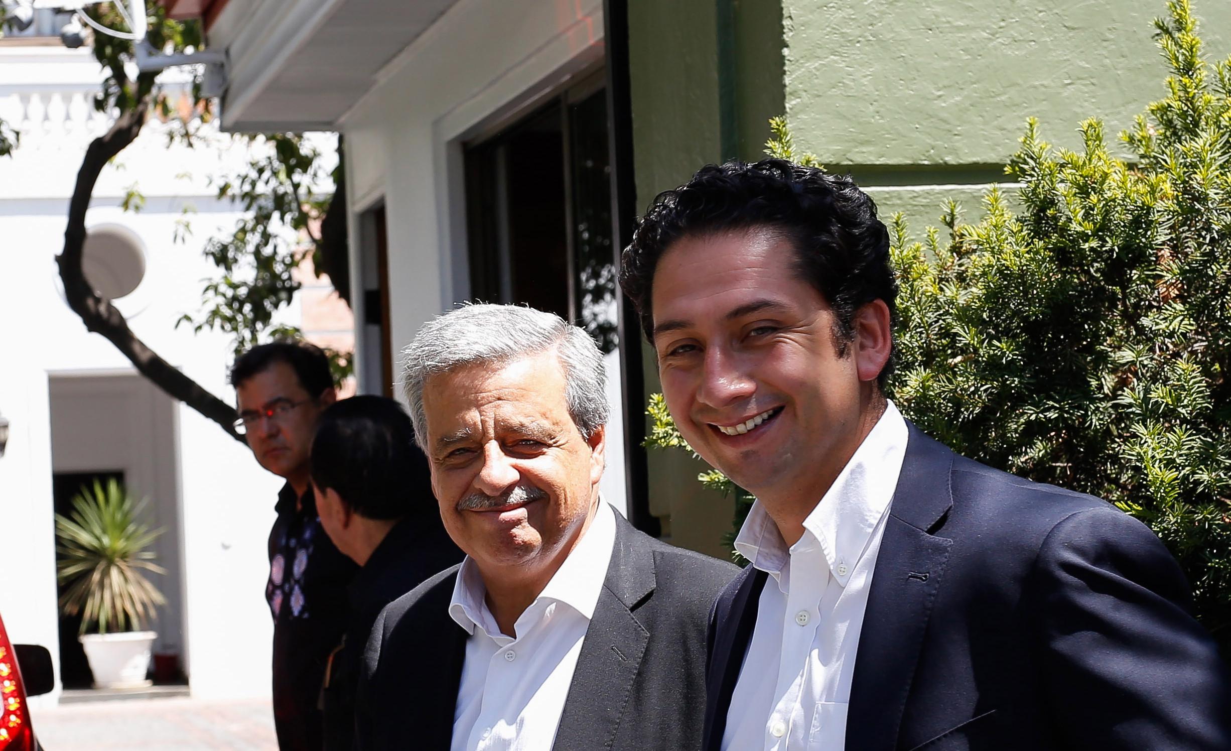 Sergio Aguiló y Diego Ancalao | Francisco Flores S. | Agencia UNO