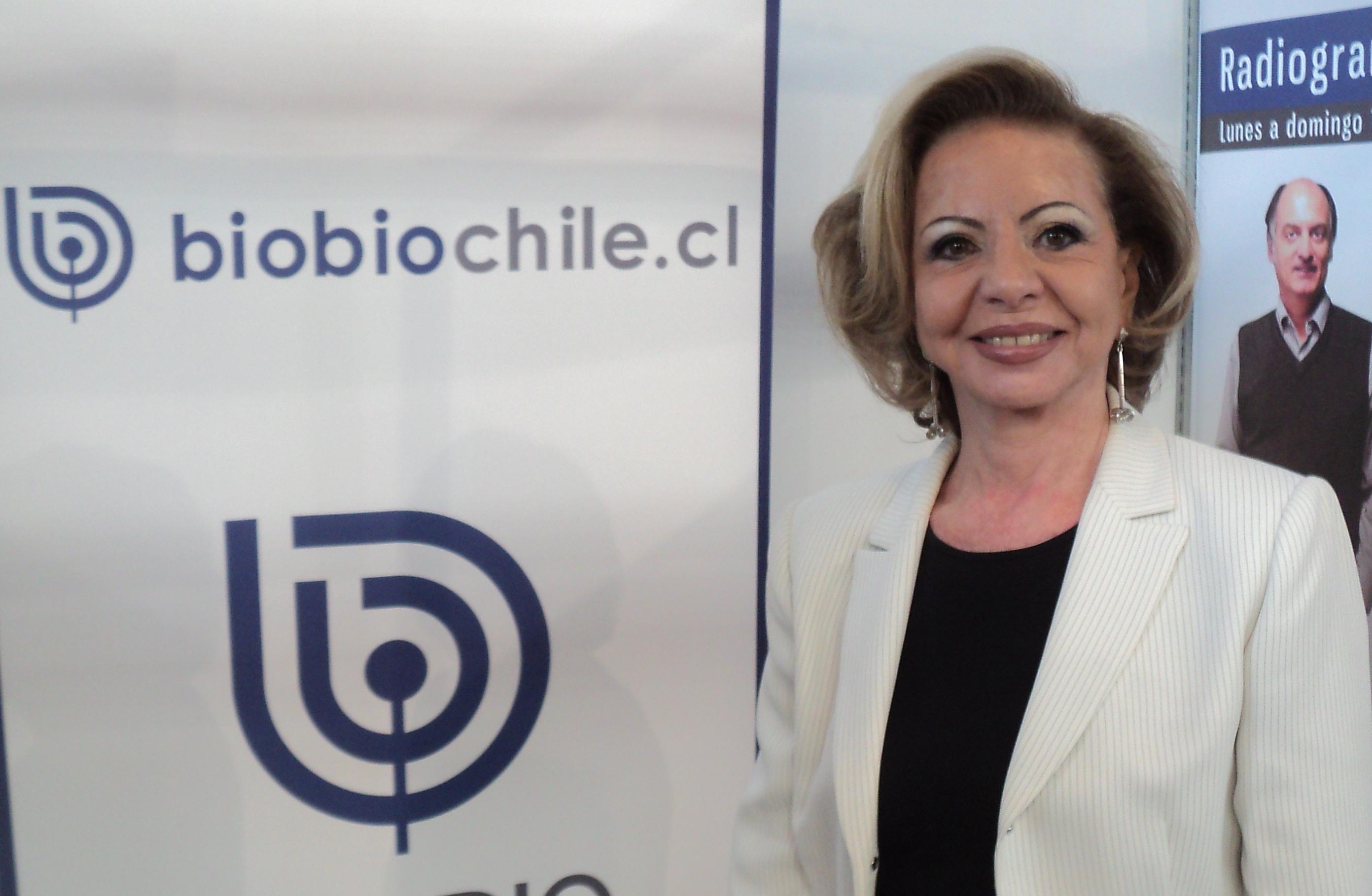 Jacqueline Rodríguez – Gerenta General de Achiga. Foto: biobiochile.cl