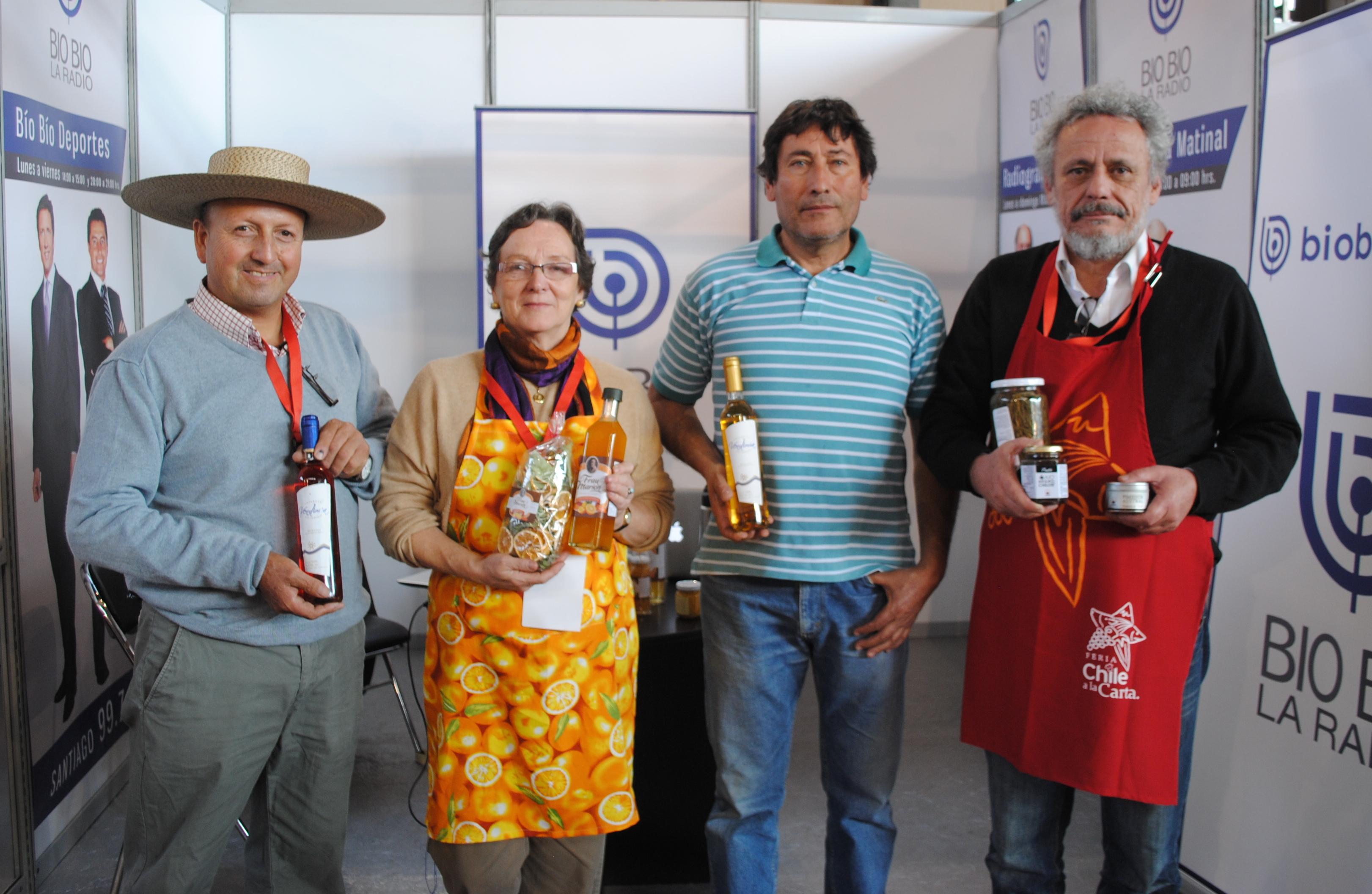 Expositores seleccionados por INDAP en Feria Chile a la Carta. Foto: biobiochile.cl