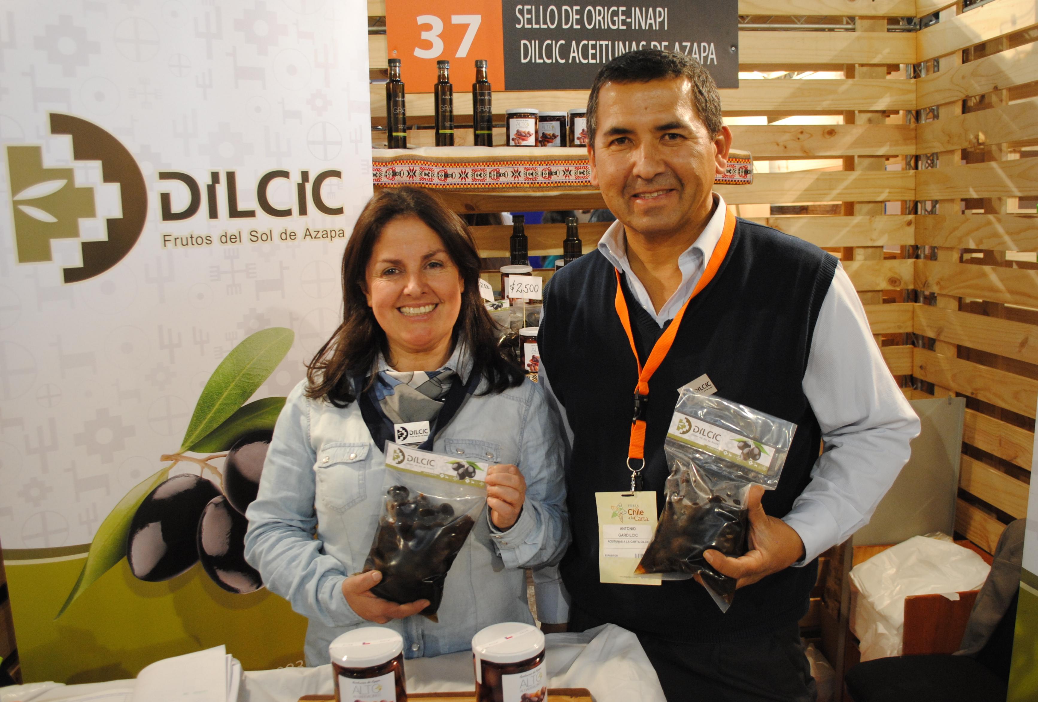 Dilcic en Feria Chile a la Carta. Foto: biobiochile.cl