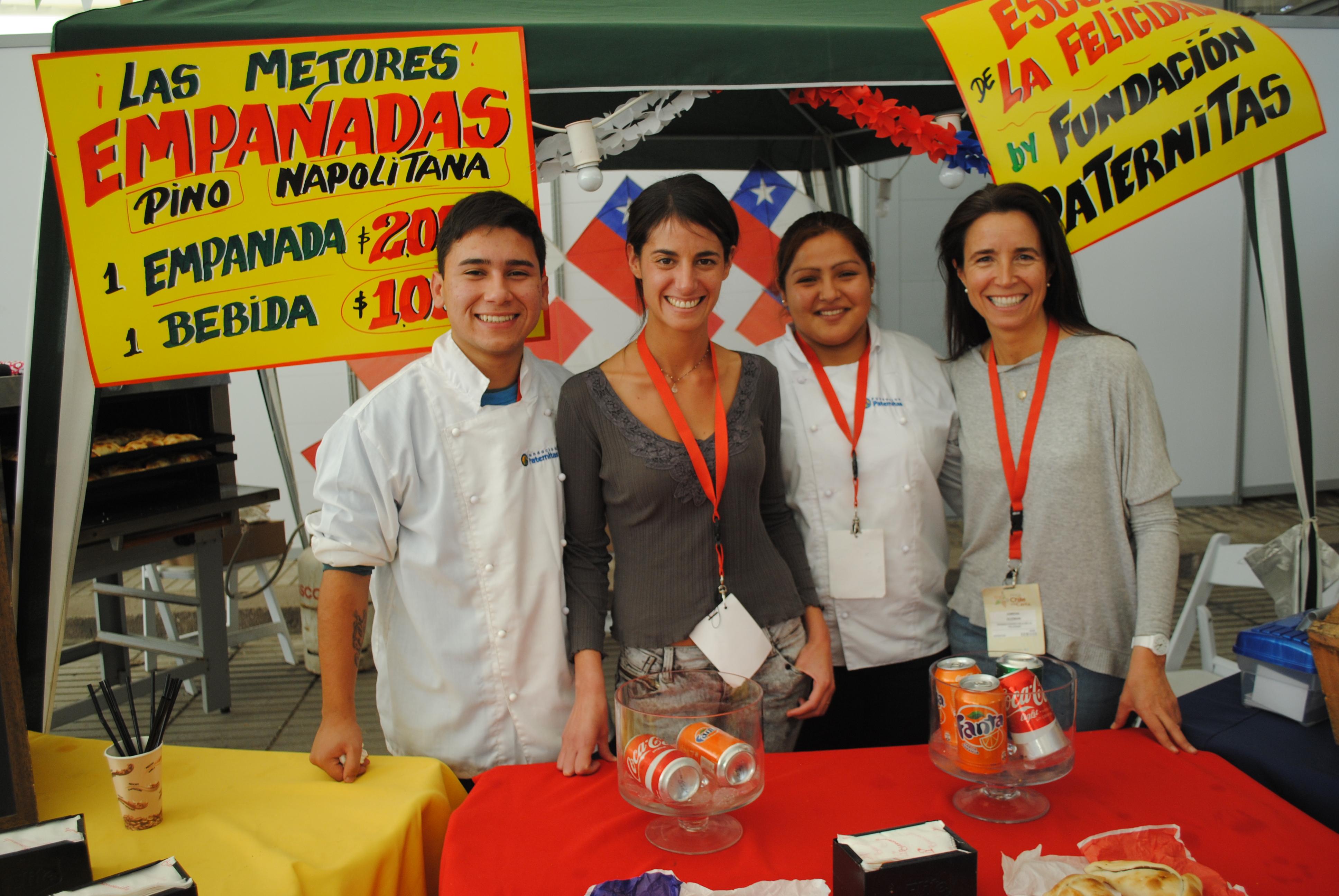 Paternitas en Feria Chile a la Carta. Foto: biobiochile.cl
