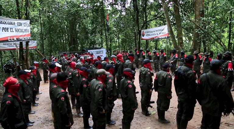 ELN   Voces de Colombia   AFP
