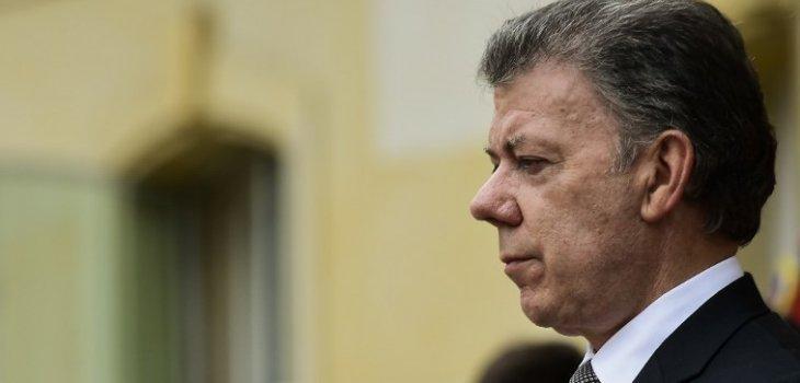 Presidente Santos | Luis Acosta | AFP