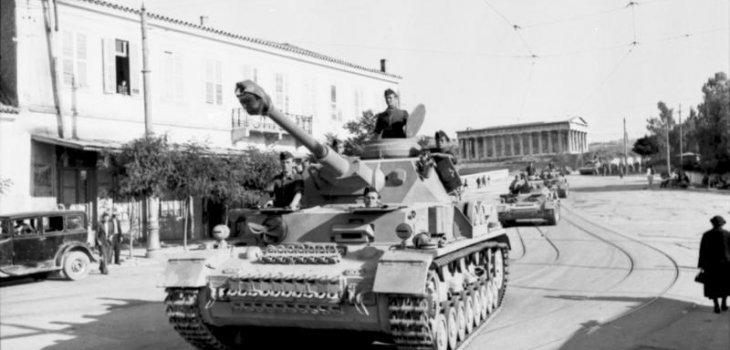 Panzer IV alemán en Atenas (1943) | German Federal Archives