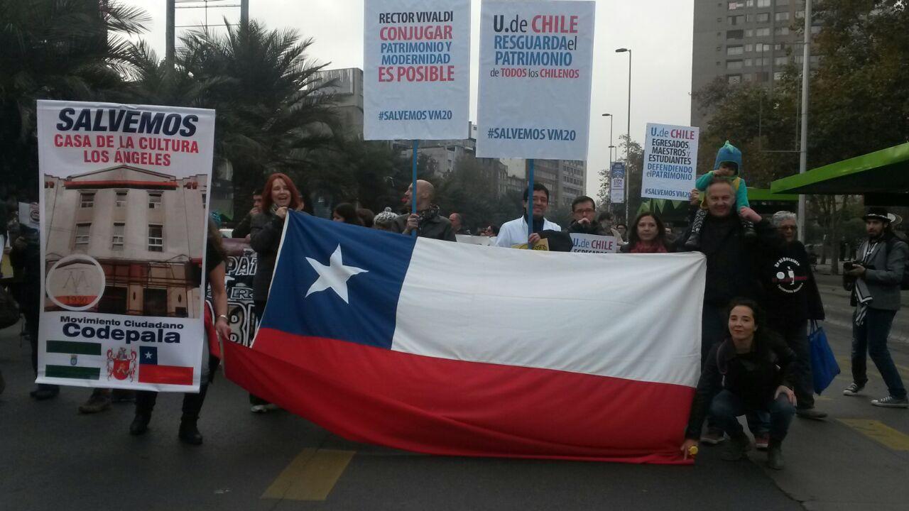 Segunda Marcha por el Patrimonio | Foto: biobiochile.cl