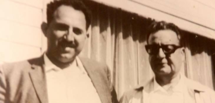 Elías Jana y Salvador Allende   www.pschile.cl