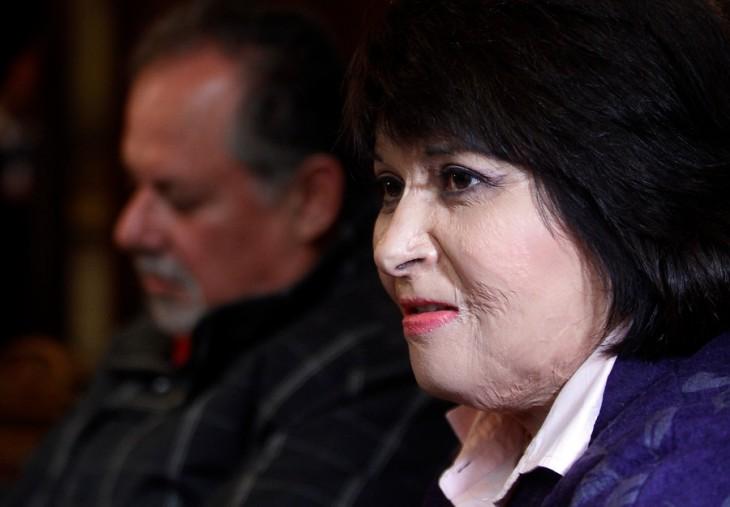 Carmen Gloria Quintana | Rodrigo Sáenz | Agencia UNO