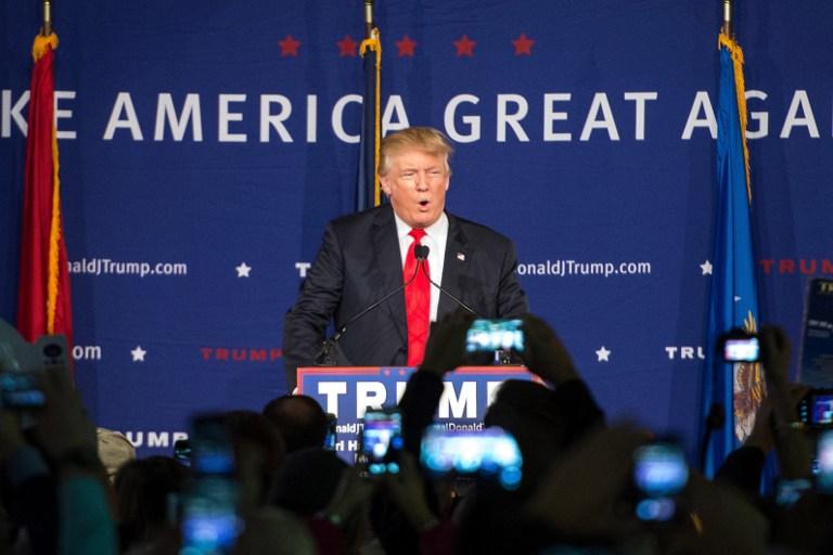 Donald Trump, candidato republicano | AFP