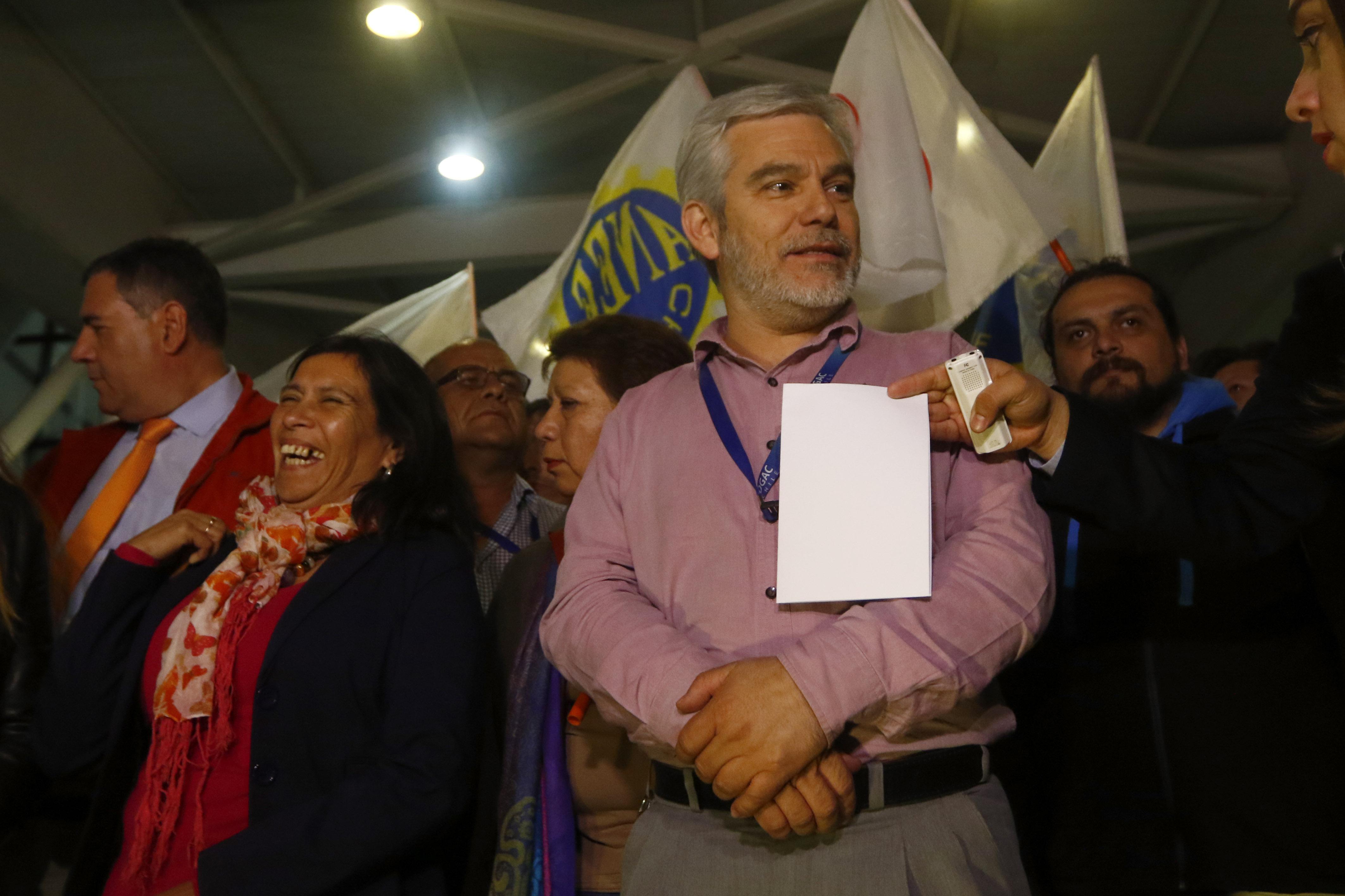 Dirigente José Peréz | Agencia UNO
