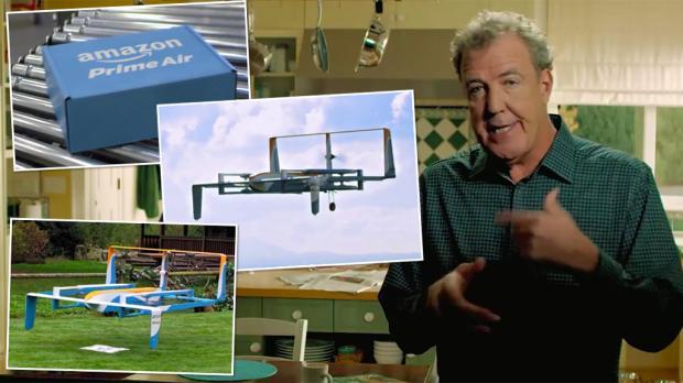 Jeremy_Clarkson presenta nuevo dron | Amazon