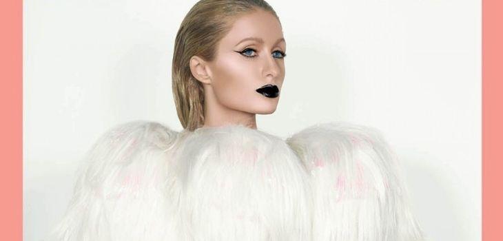 Paris Hilton en portada de Paper